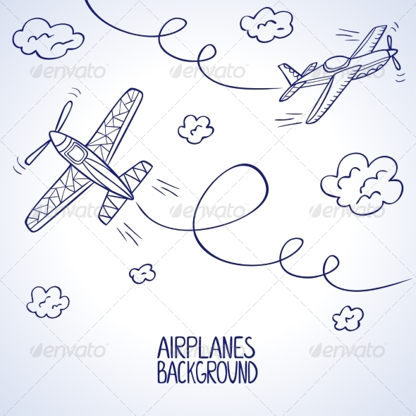 Airplanes - Travel Conceptual