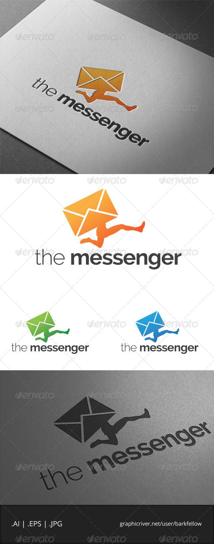 The Messenger Logo - Humans Logo Templates