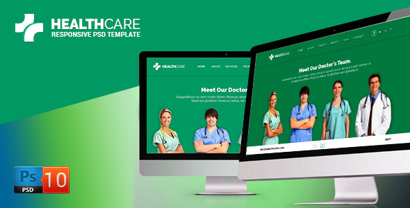 Health Care PSD Template - Events Entertainment