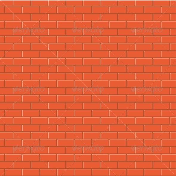 Red Brick Background Texture - Patterns Decorative