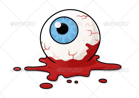 Horror Eye - Organic Objects Objects