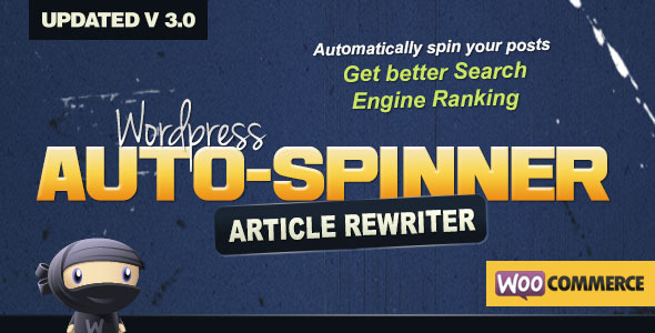 Wordpress Auto Spinner - Articles Rewriter - CodeCanyon Item for Sale