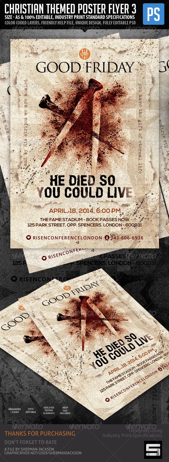 Church/Christian Themed Poster/Flyer Vol.3 - Church Flyers