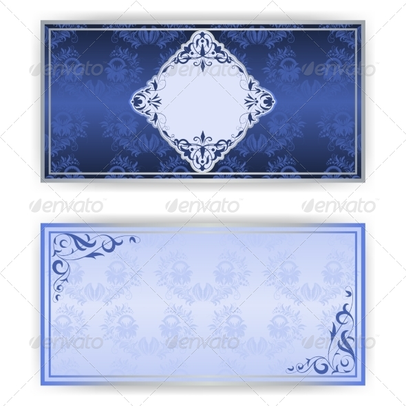 Invitation Card with Vintage Pattern - Patterns Decorative