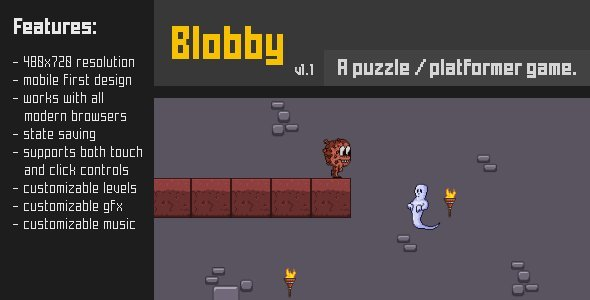 Blobby - CodeCanyon Item for Sale
