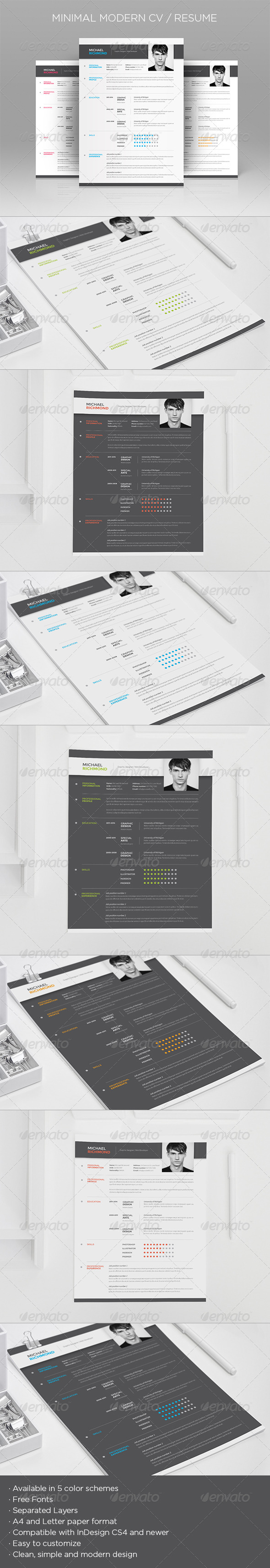 InDesign Simple Design Templates from GraphicRiver (Page 3)