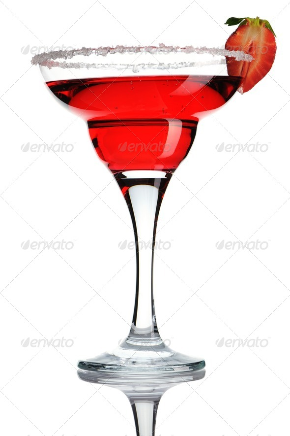 Strawberry Margarita - Stock Photo - Images