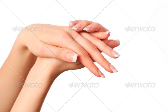 Beautiful hands - Stock Photo - Images