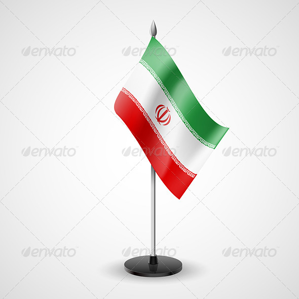 Table Flag of Iran - Miscellaneous Vectors