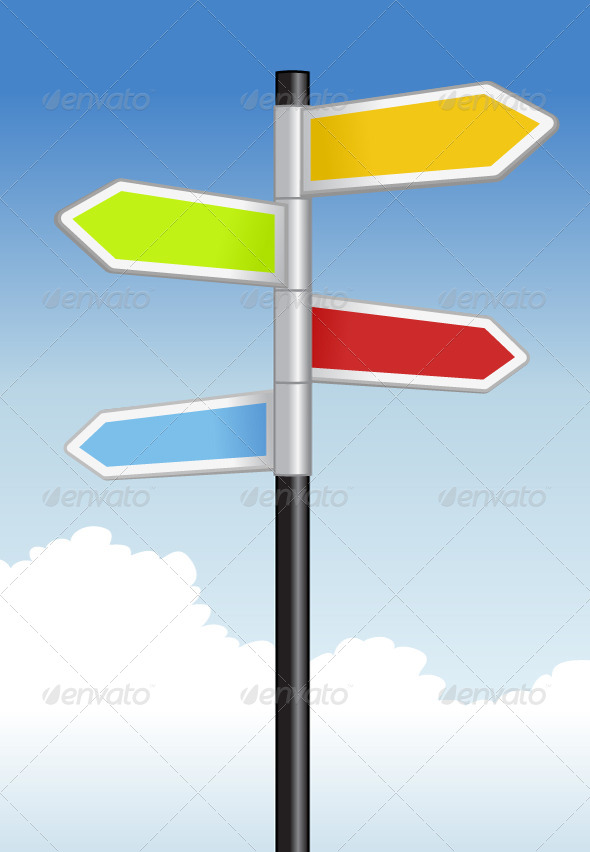 Signpost - Objects Vectors