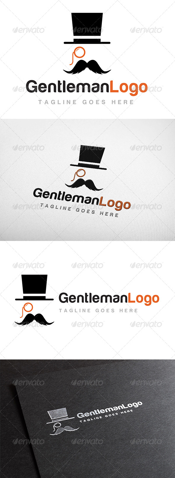 Gentleman Logo - Humans Logo Templates