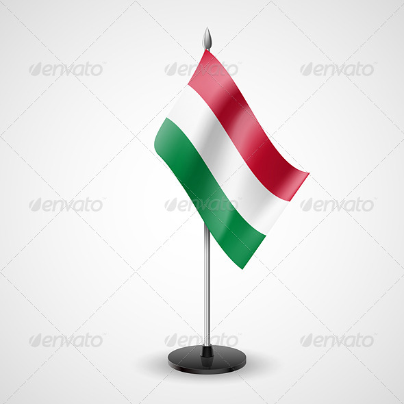 Table Flag of Hungary - Miscellaneous Vectors