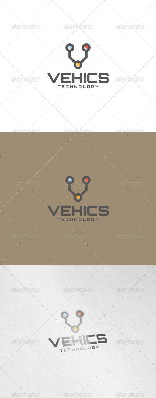 Vehics Logo - Letters Logo Templates