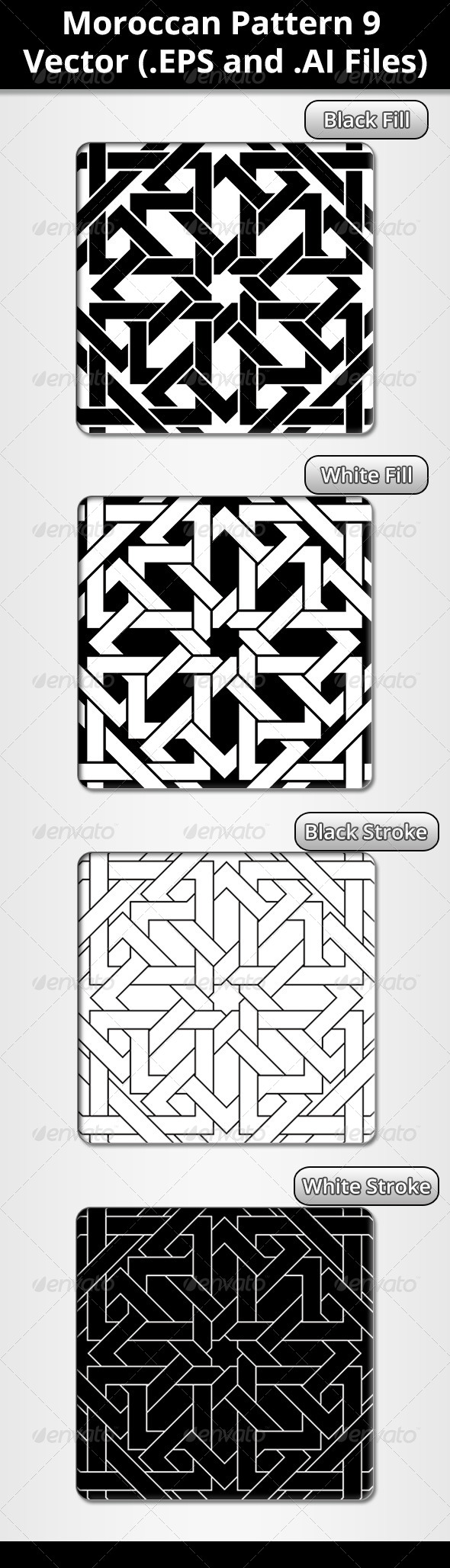 Moroccan Pattern - Patterns Decorative