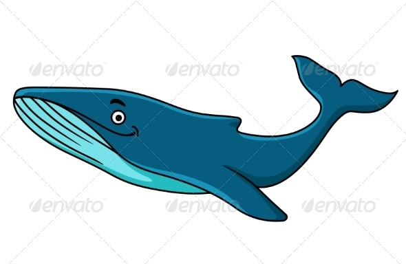 Blue Whale - Animals Characters