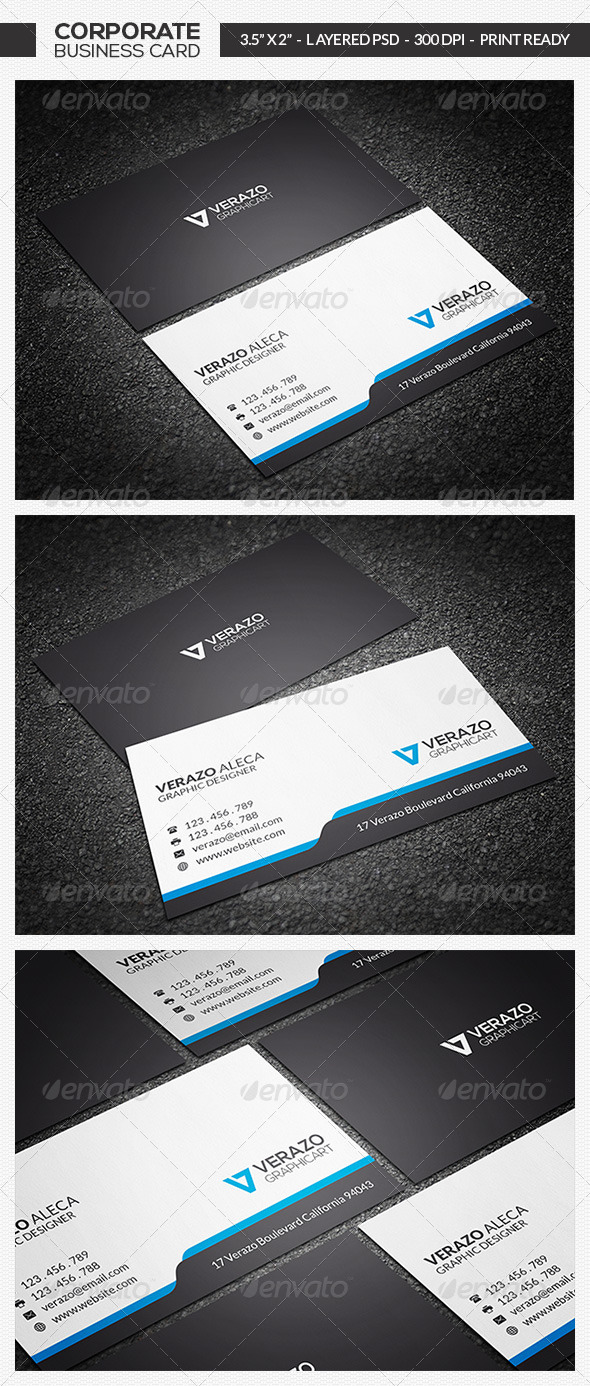 Minimal Business Card 10 - Corporate Business Cards