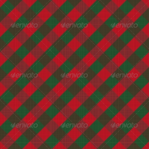 Seamless Checked Background - Backgrounds Decorative