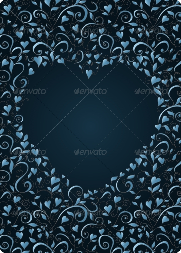 Heart-Shaped Frame - Valentines Seasons/Holidays