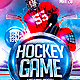 Hockey Flyer PSD - GraphicRiver Item for Sale
