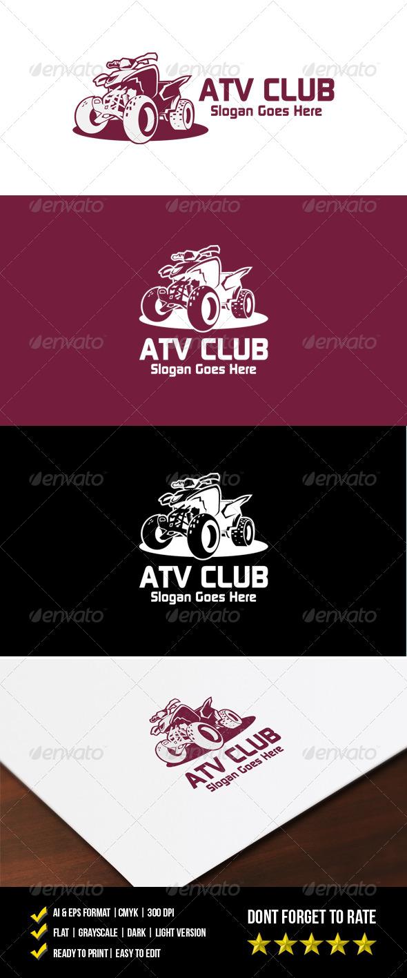 ATV Club Logo - Objects Logo Templates