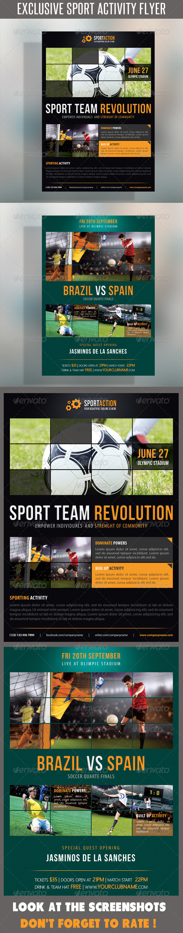 Sport Multipurpose Flyer 15 - Sports Events