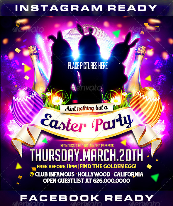 Easter 1 - Clubs & Parties Events