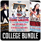 College Party Flyer Bundle - GraphicRiver Item for Sale