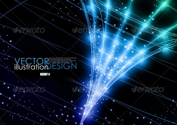 Neon Technology Background. - Backgrounds Decorative