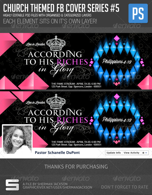 Church/Christian Themed FB Cover Series #5 - Facebook Timeline Covers Social Media