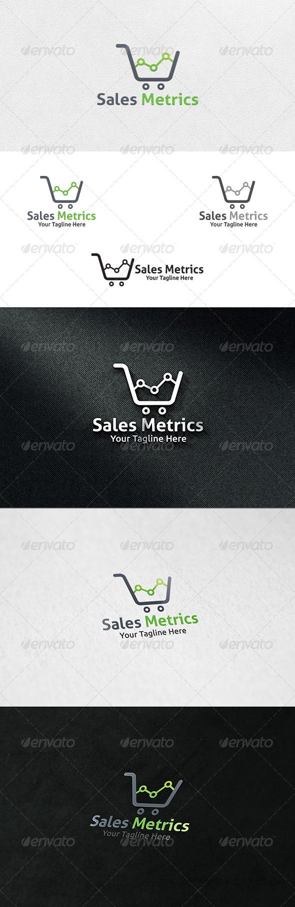 Sales Metrics - Logo Template - Symbols Logo Templates