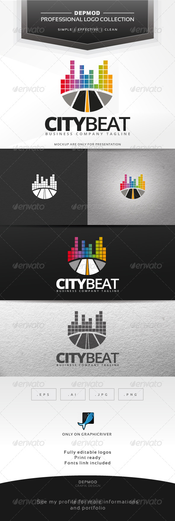 City Beat Logo - Symbols Logo Templates