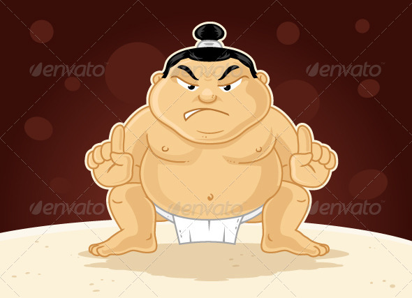 Sumo Wrestler - People Characters