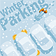 Winter Parking - GraphicRiver Item for Sale