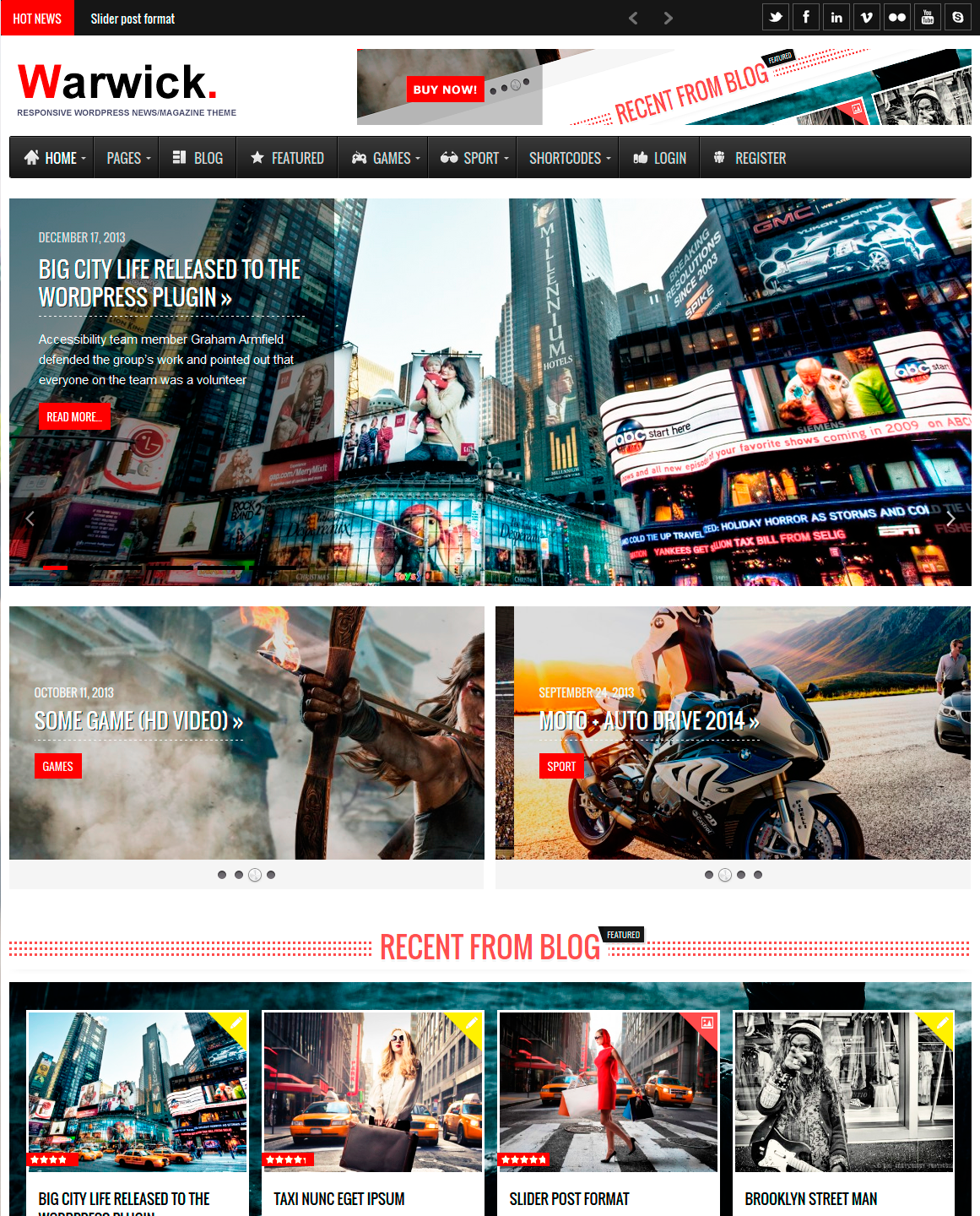 Warwick - Responsive News/Magazine WordPress Theme by RoyalwpThemes