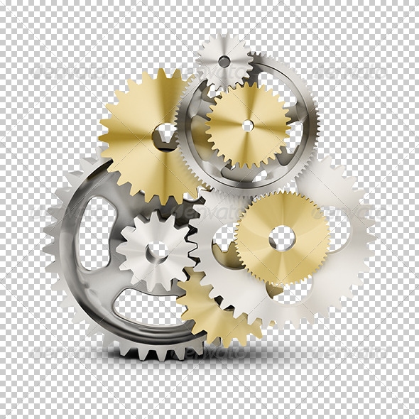 Gears - Objects 3D Renders