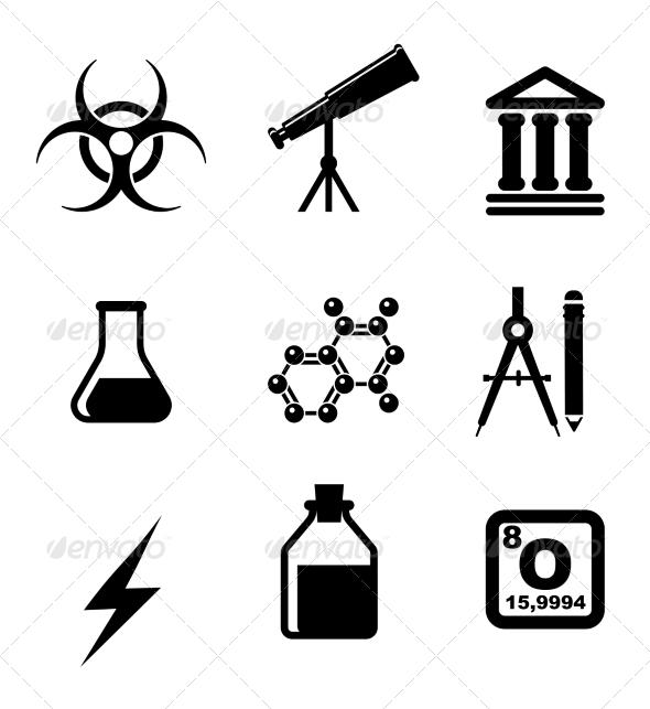 Science Symbols - Health/Medicine Conceptual