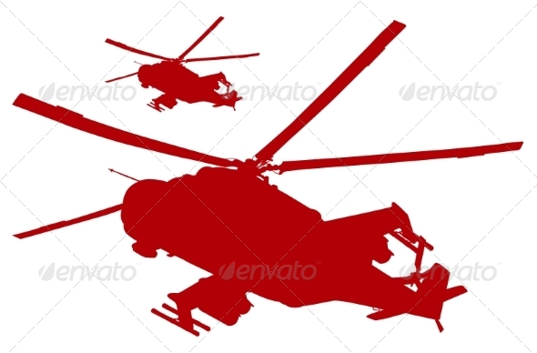 Helicopters - Travel Conceptual