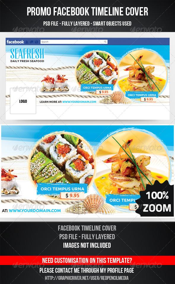SeaFood Timeline Cover - Facebook Timeline Covers Social Media