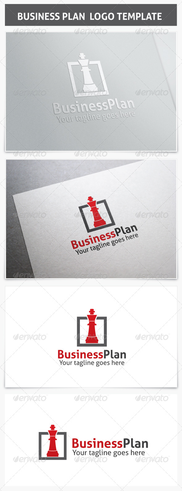 Business Plan Logo - Objects Logo Templates
