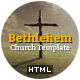 Bethlehem - Church Bootstrap 3 HTML5 Template