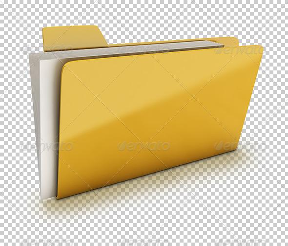 Folder - Objects 3D Renders