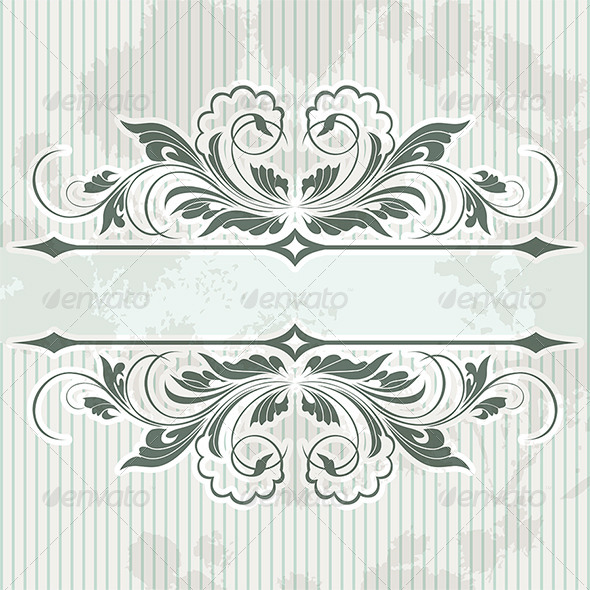 Vintage Card - Decorative Vectors