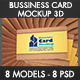 Bussiness Card Mockup - GraphicRiver Item for Sale