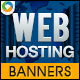 Unlimited Web Hosting Banners - GraphicRiver Item for Sale
