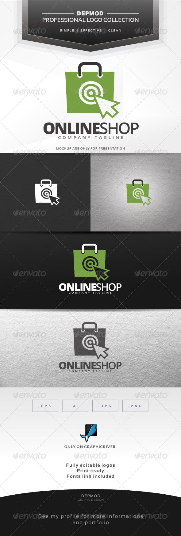 Online Shop Logo - Symbols Logo Templates