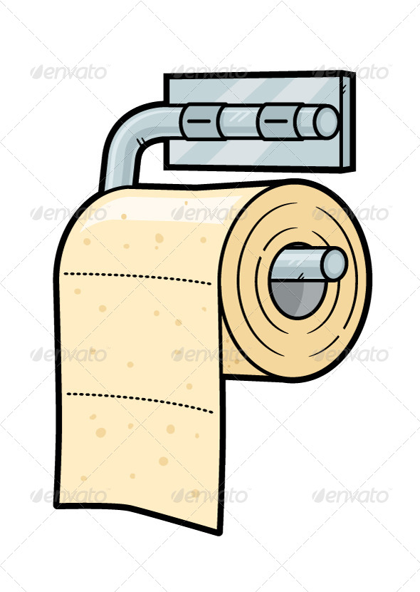Toilet Paper - Objects Vectors