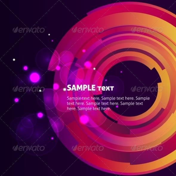 Galaxy Digital Bokeh Background - Backgrounds Decorative