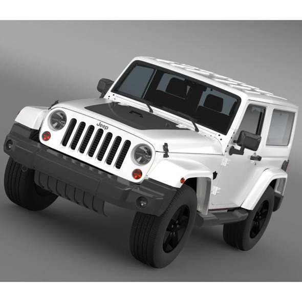 Jeep Wrangler Arctic 2012 - 3DOcean Item for Sale