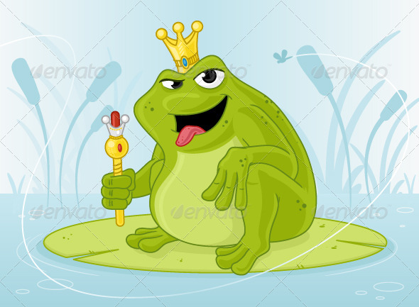 Frog Prince - Animals Characters