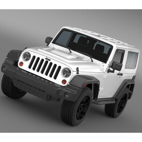Jeep Wrangler Moab 2012 - 3DOcean Item for Sale